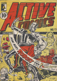 Cover Thumbnail for Active Comics (Bell Features, 1942 series) #15