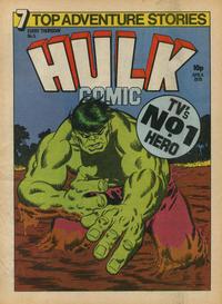 Cover Thumbnail for Hulk Comic (Marvel UK, 1979 series) #5