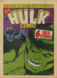 Cover Thumbnail for Hulk Comic (Marvel UK, 1979 series) #6
