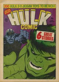 Cover Thumbnail for Hulk Comic (Marvel UK, 1979 series) #6
