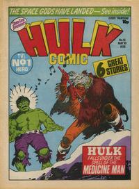 Cover Thumbnail for Hulk Comic (Marvel UK, 1979 series) #13