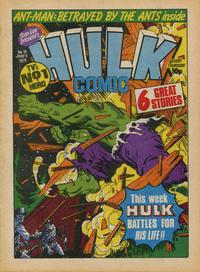 Cover Thumbnail for Hulk Comic (Marvel UK, 1979 series) #10