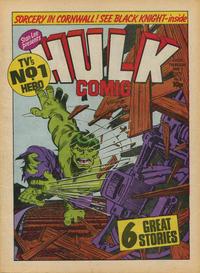 Cover Thumbnail for Hulk Comic (Marvel UK, 1979 series) #9