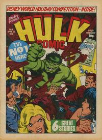 Cover Thumbnail for Hulk Comic (Marvel UK, 1979 series) #8