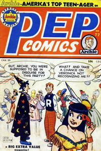 Cover Thumbnail for Pep Comics (Bell Features, 1948 series) #77
