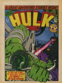 Cover Thumbnail for Hulk Comic (Marvel UK, 1979 series) #25