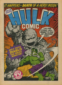 Cover Thumbnail for Hulk Comic (Marvel UK, 1979 series) #21