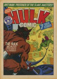 Cover Thumbnail for Hulk Comic (Marvel UK, 1979 series) #15