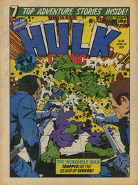 Cover Thumbnail for Hulk Comic (Marvel UK, 1979 series) #16