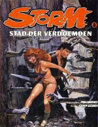Cover Thumbnail for Storm (Oberon, 1978 series) #8 - Stad der verdoemden