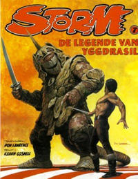 Cover Thumbnail for Storm (Oberon, 1978 series) #7 - De legende van Yggdrasil