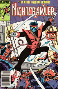 Cover Thumbnail for Nightcrawler (Marvel, 1985 series) #1 [Newsstand]