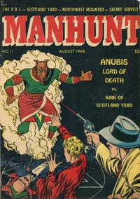 Cover Thumbnail for Manhunt (Magazine Enterprises, 1947 series) #11