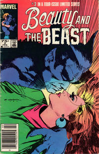 Cover Thumbnail for Beauty and the Beast (Marvel, 1984 series) #2 [Newsstand Edition]