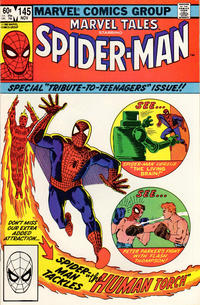 Cover Thumbnail for Marvel Tales (Marvel, 1966 series) #145 [Direct]