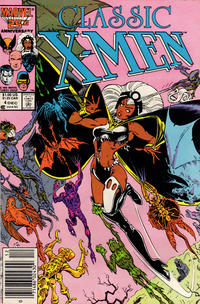 Cover for Classic X-Men (Marvel, 1986 series) #4 [Direct Edition]