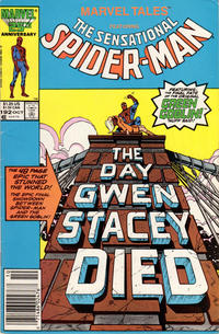 Cover Thumbnail for Marvel Tales (Marvel, 1966 series) #192 [Newsstand]