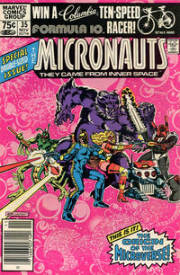 Cover Thumbnail for Micronauts (Marvel, 1979 series) #35 [Newsstand]