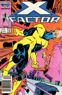 Cover Thumbnail for X-Factor (Marvel, 1986 series) #11 [Newsstand]
