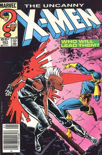 Cover for The Uncanny X-Men (Marvel, 1981 series) #201 [Direct Edition]