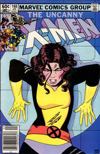 Cover Thumbnail for The Uncanny X-Men (Marvel, 1981 series) #168 [Newsstand Edition]