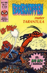 Cover Thumbnail for Edderkoppen (Semic, 1984 series) #5/1985