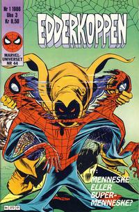 Cover Thumbnail for Edderkoppen (Semic, 1984 series) #1/1986