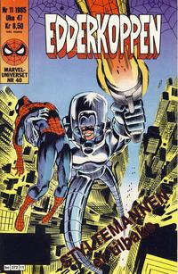 Cover Thumbnail for Edderkoppen (Semic, 1984 series) #11/1985