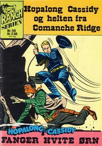 Cover Thumbnail for Ranchserien (Illustrerte Klassikere / Williams Forlag, 1968 series) #110