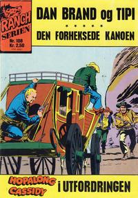 Cover Thumbnail for Ranchserien (Illustrerte Klassikere / Williams Forlag, 1968 series) #108