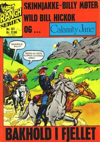 Cover Thumbnail for Ranchserien (Illustrerte Klassikere / Williams Forlag, 1968 series) #97