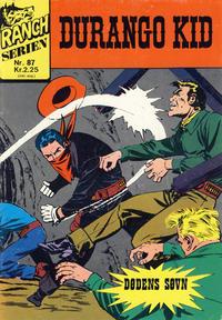 Cover Thumbnail for Ranchserien (Illustrerte Klassikere / Williams Forlag, 1968 series) #87