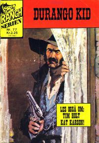 Cover Thumbnail for Ranchserien (Illustrerte Klassikere / Williams Forlag, 1968 series) #77