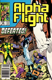 Cover Thumbnail for Alpha Flight (Marvel, 1983 series) #26 [Newsstand Edition]
