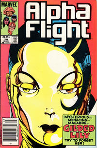Cover Thumbnail for Alpha Flight (Marvel, 1983 series) #20 [Newsstand Edition]