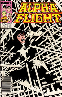 Cover Thumbnail for Alpha Flight (Marvel, 1983 series) #3 [Newsstand Edition]