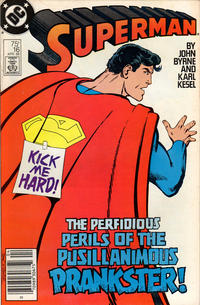 Cover Thumbnail for Superman (DC, 1987 series) #16 [Newsstand Edition]