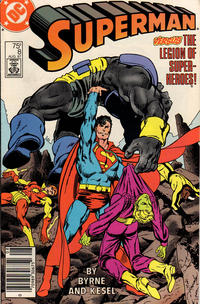 Cover Thumbnail for Superman (DC, 1987 series) #8 [Newsstand]