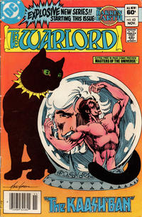 Cover for Warlord (DC, 1976 series) #63 [Newsstand Edition]