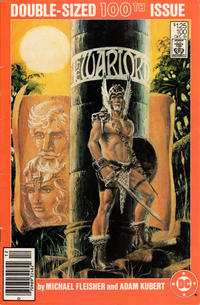 Cover Thumbnail for Warlord (DC, 1976 series) #100 [Newsstand Edition]