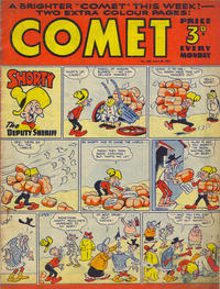 Cover Thumbnail for Comet (Amalgamated Press, 1949 series) #206