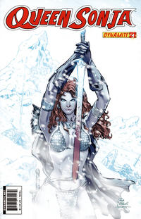 Cover Thumbnail for Queen Sonja (Dynamite Entertainment, 2009 series) #21 [Igor Vitorino Cover]