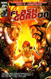 Cover Thumbnail for Flash Gordon: Invasion of the Red Sword (Ardden Entertainment, 2011 series) #5