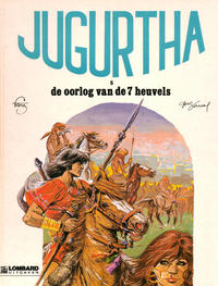 Cover Thumbnail for Jugurtha (Le Lombard, 1977 series) #5 - De oorlog van de 7 heuvels