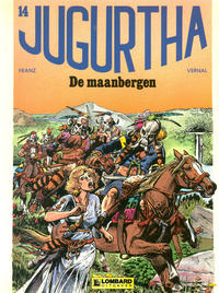 Cover Thumbnail for Jugurtha (Le Lombard, 1977 series) #14 - De maanbergen