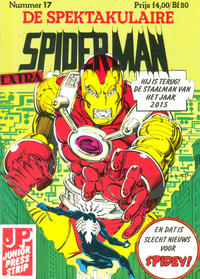 Cover Thumbnail for De spektakulaire Spiderman Extra (JuniorPress, 1983 series) #17