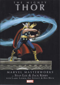 Cover Thumbnail for Marvel Masterworks: The Mighty Thor (Marvel, 2010 series) #1