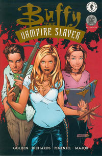 Cover Thumbnail for Buffy the Vampire Slayer (Dark Horse, 1998 series) #21 [Dynamic Forces Exclusive - Gold Foil]