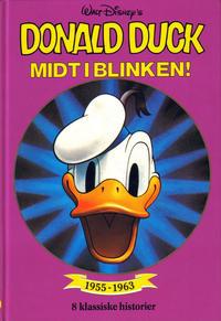 Cover Thumbnail for Donald Duck bøker [Gullbøker] (Hjemmet / Egmont, 1984 series) #[1990] - Midt i blinken!
