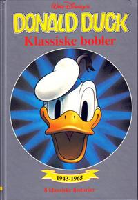 Cover Thumbnail for Donald Duck bøker [Gullbøker] (Hjemmet / Egmont, 1984 series) #[1991] - Klassiske bobler